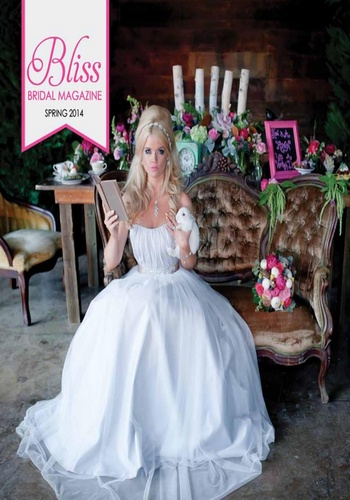digital magazine Bliss Bridal Magazine publishing software