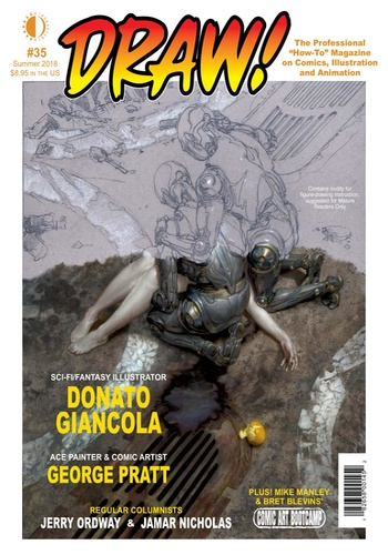 digital magazine DRAW! Comic Books publishing software