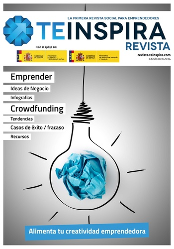 digital magazine Revista.Teinspira publishing software