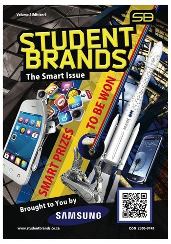 digital magazine Student Brands - Money Matters publishing software