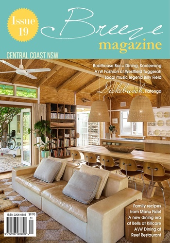 digital magazine Breeze Magazine Central Coast publishing software