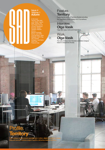 digital magazine Seasonal Affective Design publishing software