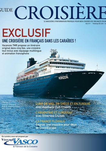 digital magazine Guide Croisière publishing software