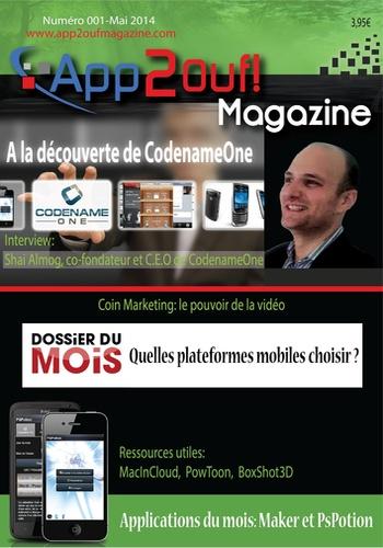 digital magazine App2ouf Magazine publishing software
