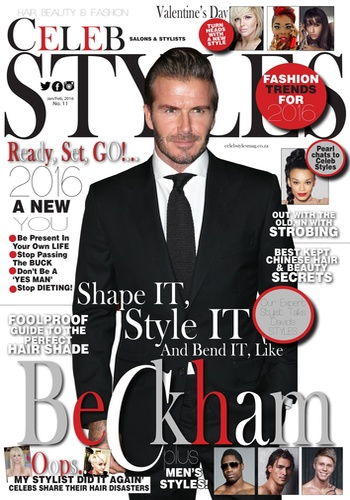 digital magazine Celeb Styles Magazine publishing software