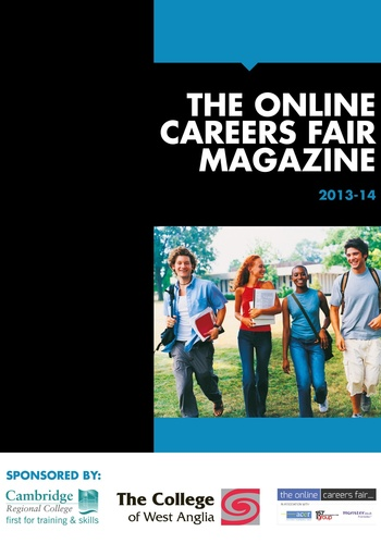 digital magazine The Online Careers Fair Magazine publishing software