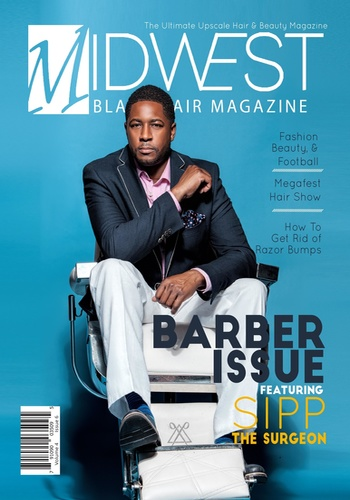 digital magazine Midwest Black Hair publishing software