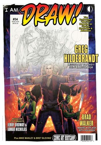 digital magazine DRAW! Comic Books publishing software
