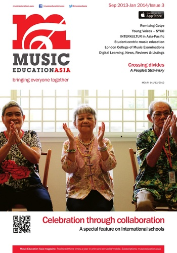 digital magazine Music Education Asia publishing software