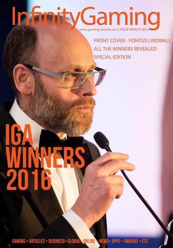 digital magazine Infinity Gaming Magazine publishing software