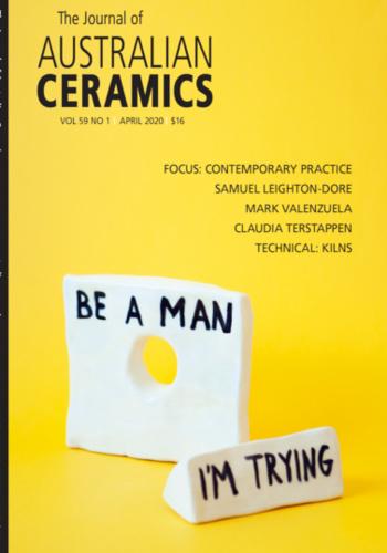 digital magazine Journal of Australian Ceramics publishing software