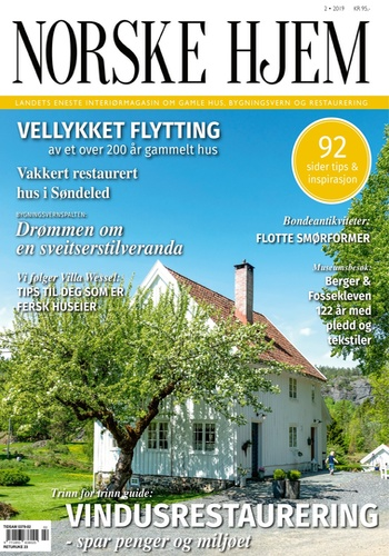 digital magazine Magasinet Norske Hjem publishing software