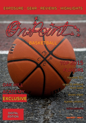 digital magazine OnPoint Basketball publishing software