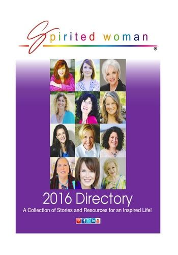 digital magazine The Spirited Woman publishing software