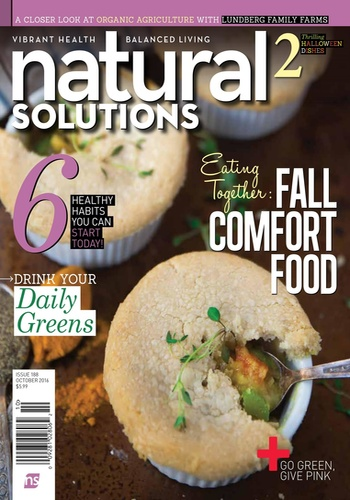 digital magazine Natural Solutions publishing software
