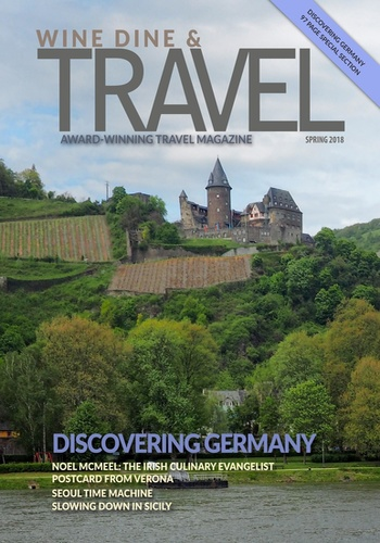 digital magazine Wine Dine & Travel Magazine publishing software