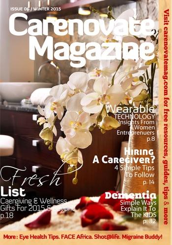 digital magazine CareNovate Magazine publishing software